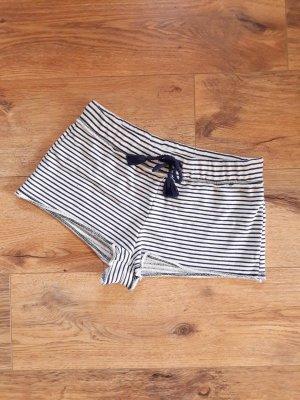 Hunkemöller Pyjama wit-donkerblauw