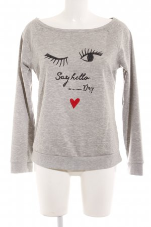 Hunkemöller Sweatshirt Motivdruck Casual-Look