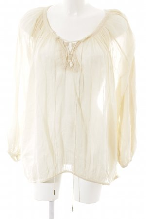 Hunkydory Transparenz-Bluse nude Casual-Look