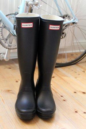 Hunter Boots Gummistiefel Original Tall UK 3 matt