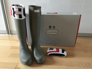 Hunter Boots hohe Gummistiefel plus Socken