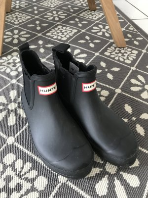 Hunter Boots in Mattschwwarz