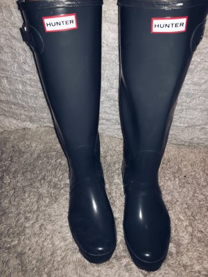 Hunter Boots Shiny