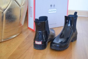 Hunter Chelsea Boots schwarz