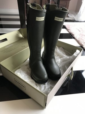 Hunter Wellies dark green