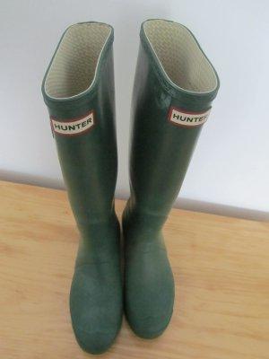 Hunter Wellington laarzen bos Groen-groen