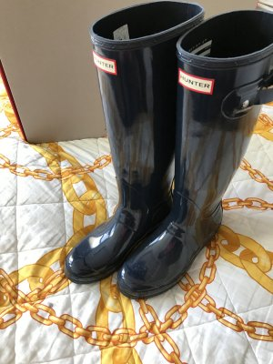 Hunter Gummistiefel Boots Navy 40