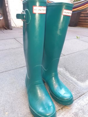 Hunter Wellies cadet blue
