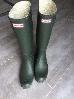 Hunter High Boots forest green