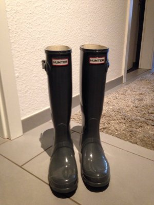Hunter Gummistiefel in Grau