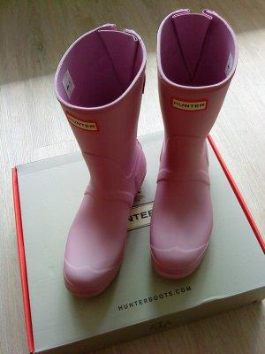 Hunter Wellington laarzen roze