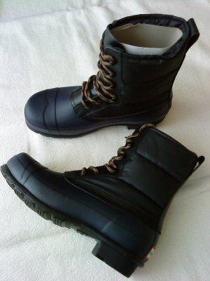 Hunter Booties black-dark blue