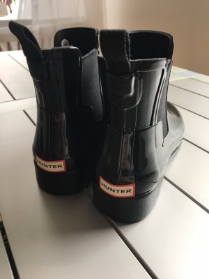 Hunter Chelsea Boots black