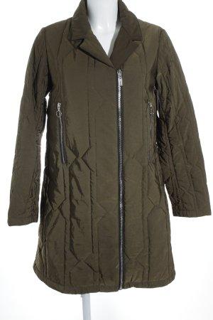 Hunter Between-Seasons-Coat green grey-dark orange casual look