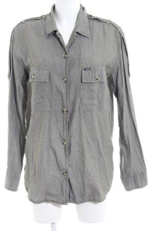 Hurley Long-Bluse grüngrau schlichter Stil