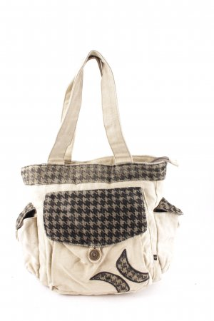 Hurley Schultertasche Hahnentrittmuster Casual-Look