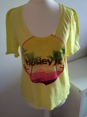 Hurley T-Shirt S 36 gelb bunt Volcom DC Shoes Billabong Oneill