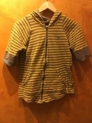 Hurley Camicia con cappuccio giallo scuro-grigio