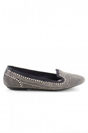 Hush Puppies Foldable Ballet Flats silver-colored-black casual look