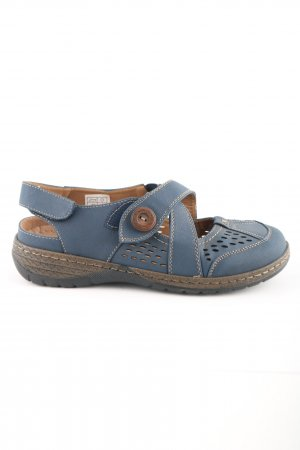 Hush Puppies Komfort-Sandalen blau-braun Casual-Look