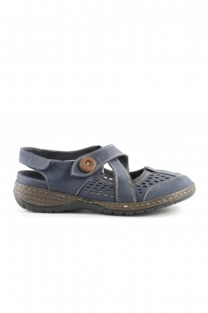 Hush Puppies Komfort-Sandalen dunkelblau Casual-Look