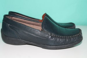 Hush Puppies Mokassins Gr.37 dunkelblau Leder