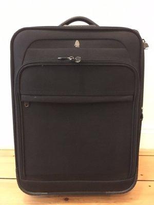 Hush Puppies Reisekoffer aus Stoff in schwarz neuwertig!