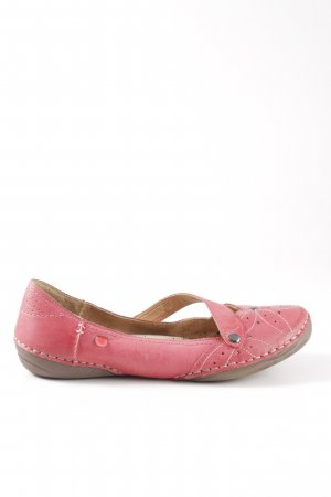 Hush Puppies Strappy Ballerinas pink casual look