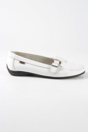 Hush Puppies Riemchen Ballerinas weiß Casual-Look