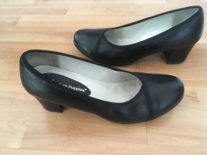 Hush Puppies schwarz Pumps Schuhe Echtleder 40 (wie Neu)