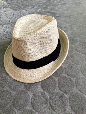 Cappello parasole nero-crema