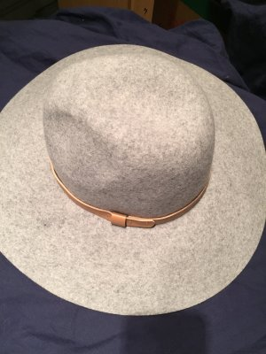 H&M Felt Hat light grey
