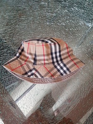 Burberry Fabric Hat grey brown
