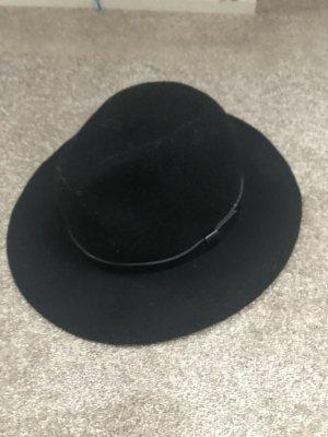 H&M Cappello a falde larghe nero