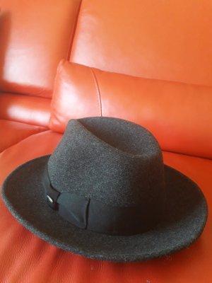 MAYSER Chapeau en feutre gris foncé-gris anthracite