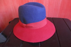 Furla Hat red-dark violet wool
