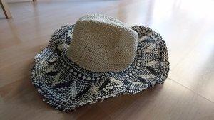 Hunkemöller Cappello di paglia nero-beige chiaro
