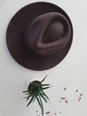 Cappello da cowboy talpa-ocra