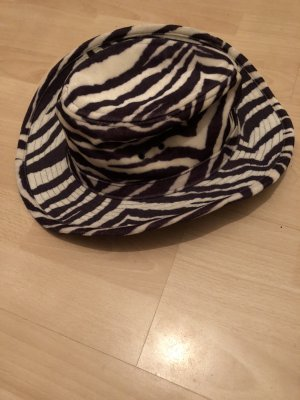 Sombrero de vaquero negro-blanco
