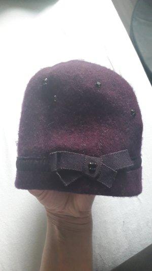 Hut aus Schurwolle f.Winter