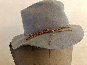 Woolen Hat grey-light brown