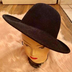 Vilten hoed donkerblauw
