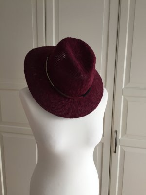 C&A Cappello a falde larghe bordeaux