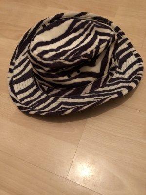 Cappello da cowboy nero-bianco