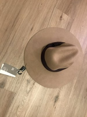 H&M Floppy Hat brown-beige