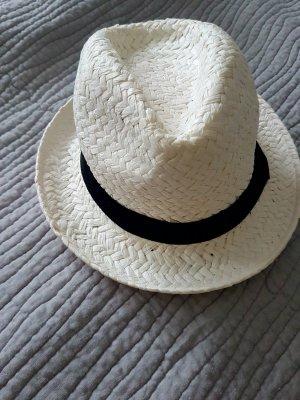 Hut Damenhut weiss schwarz