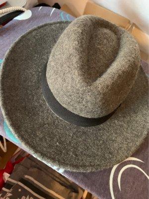 H&M Divided Wollen hoed grijs-zwart