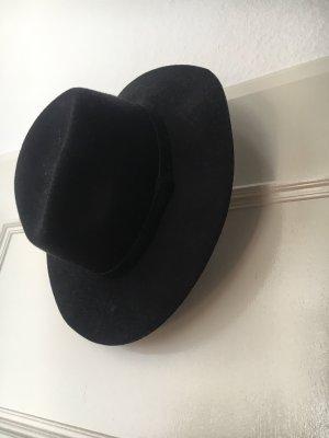 Monki Cappello in feltro nero Lana