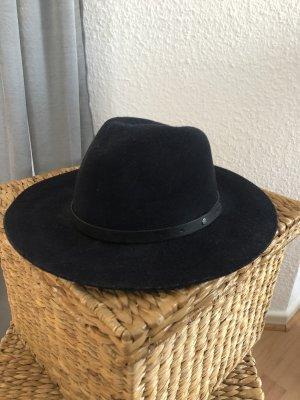 French Connection Felt Hat dark blue