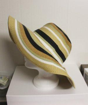Hut gestreift sommerlich